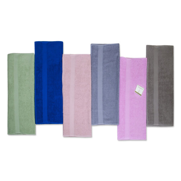 Asciugamani E/O Ospiti Set da 6 Pezzi Colorissima Tinta Unita Puro Cotone Maestri Cotonieri Home -9198