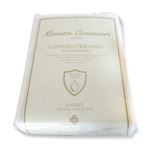 Coprimaterasso Spugna Impermeabile Antiacaro Waterproof Maestri Cotonieri -0