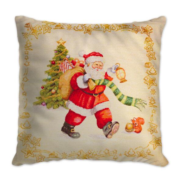 Cuscino Arredo Natale Noel Maestri Cotonieri Home-0