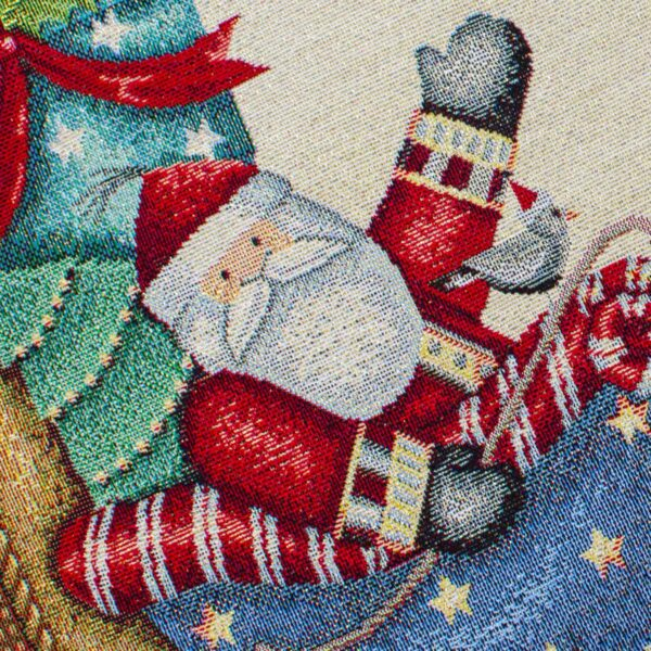 Runner di Natale Babbo Natale 50 x 140 CM Maestri Cotonieri Home-18391