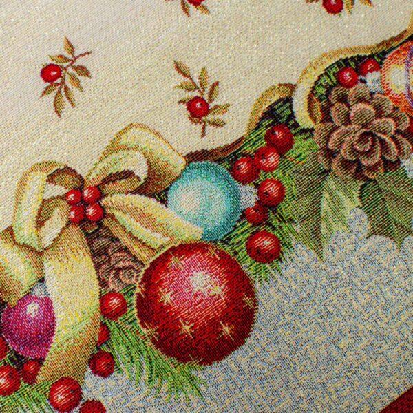 Runner di Natale Bacche 50 x 140 CM Maestri Cotonieri Home-18397