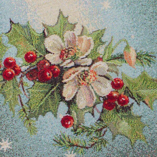 Runner di Natale Fiori 50 x 140 CM Maestri Cotonieri Home-18382