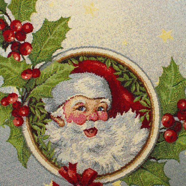 Centrotavola di Natale Ghirlanda 100 x 100 CM Maestri Cotonieri Home-18467