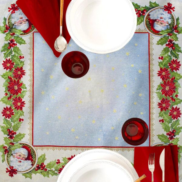 Centrotavola di Natale Ghirlanda 100 x 100 CM Maestri Cotonieri Home-0