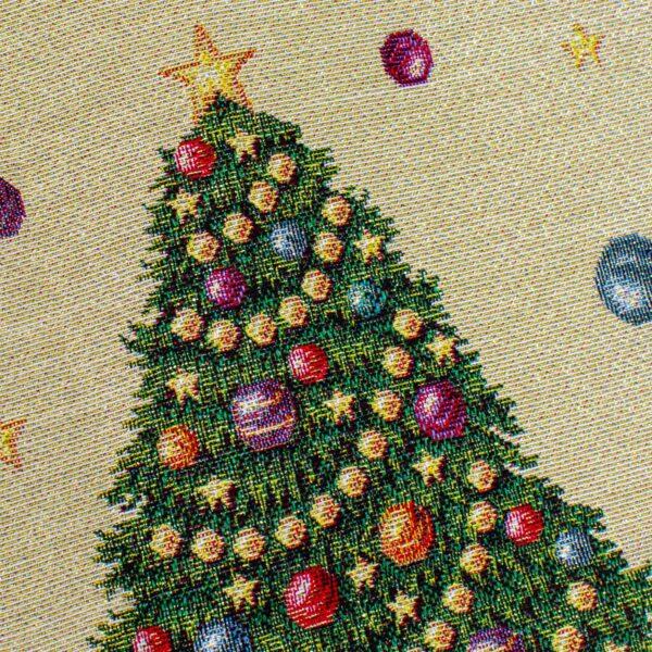 Centrotavola di Natale Luci 100 x 100 CM Maestri Cotonieri Home-18470