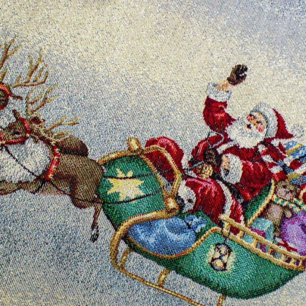 Centrotavola di Natale Navidad 100 x 100 CM Maestri Cotonieri Home-18460