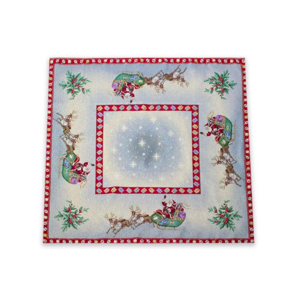 Centrotavola di Natale Navidad 100 x 100 CM Maestri Cotonieri Home-18461